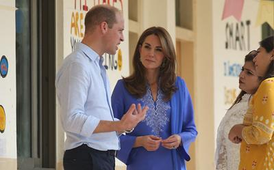 A duchess pays sartorial homage to Pakistan
