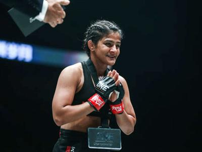 From wrestling royalty to MMA for India's Ritu Phogat