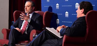 Preet Bharara says democracy is imperiled when norms are undermined