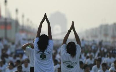 Home stretch: India leads the way on International Yoga Day