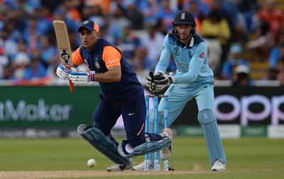 India defend Dhoni after limp end to England World Cup chase