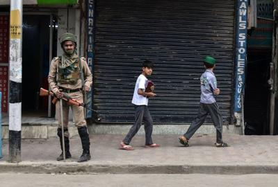 9-year-old among 144 minors detained in Indian Kashmir