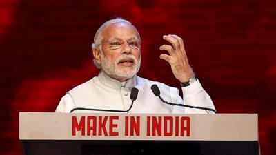 Modi eyes arms export tag in 'Made in India' push