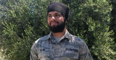 Sikh American airman in U.S. Air Force allowed to serve with turban and beard
