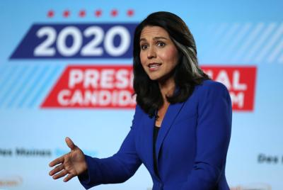 Presidential candidate Tulsi Gabbard sues Google over ad account suspension