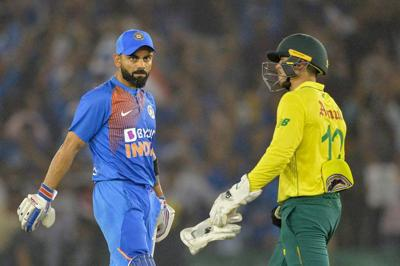 India-South Africa internationals cancelled over virus