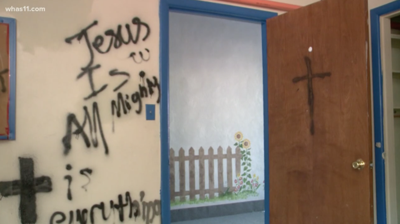 Swaminarayan Temple in Kentucky is vandalized with hateful graffiti