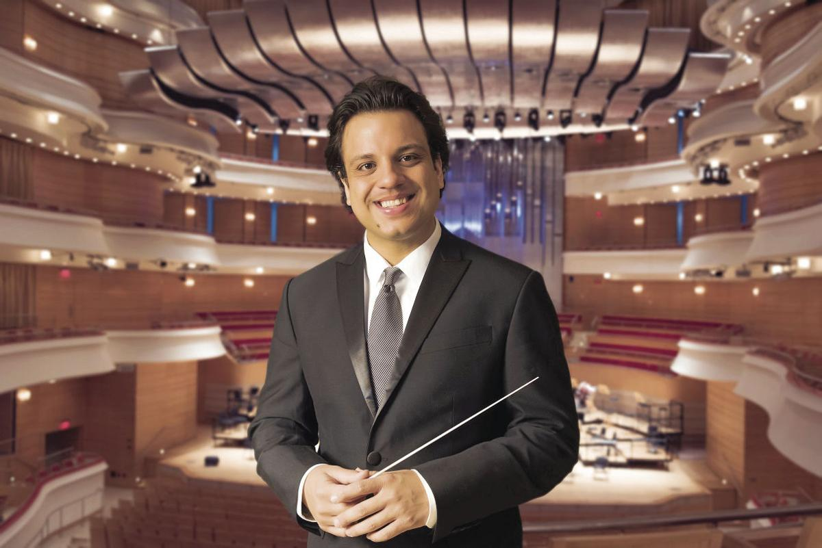 Conductor Roger Kalia named new Music Director of Symphony New Hampshire
