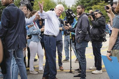 Sen. Bernie Sanders takes India to task for its actions in Kashmir