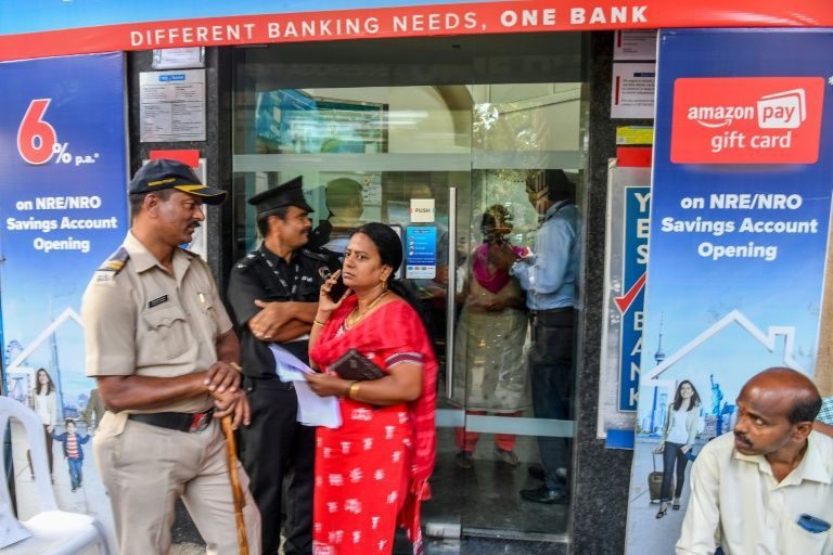 India's Yes Bank shares surge on rescue hopes