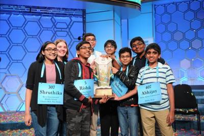 8 co-champions make history at Scripps National Spelling Bee