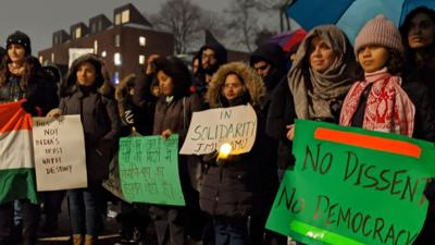 Harvard/MIT students, faculty join protests condemning India's Citizenship Act