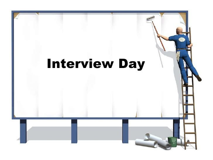Interview day: A short story