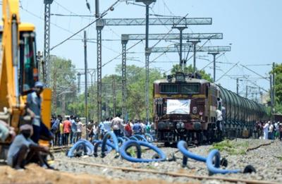 Water express delivers emergency supplies to drought-hit Chennai
