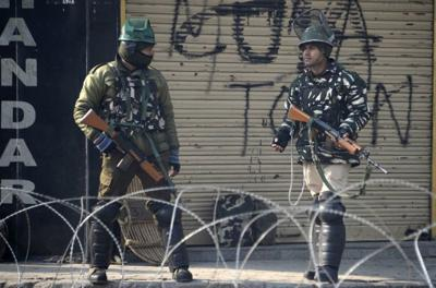 Indian police deserters among four killed in Kashmir