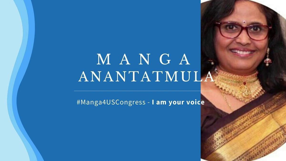 Manga Anantatmula is Republican nominee from Virginia's 11th Congressional District