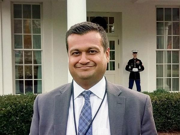 Raj Shah Comes Of Age As White House Press Officer