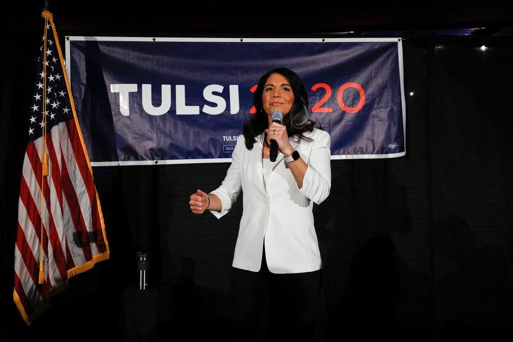 Hindu American Tulsi Gabbard drops out of Presidential race