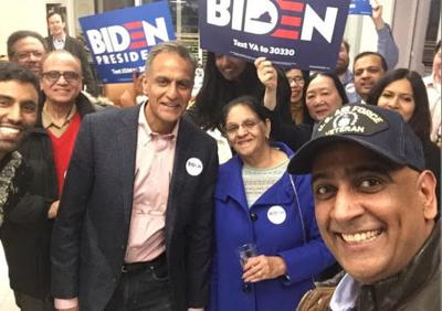 'South Asians for Biden' aims to mobilize community support for former vice president
