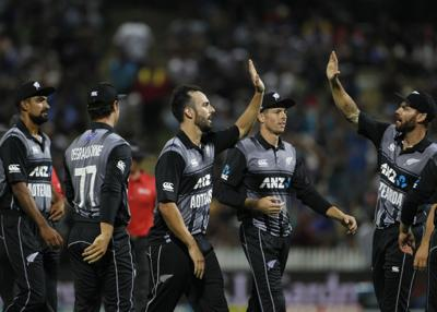 New Zealand survive tight close to claim India T20 series 2-1