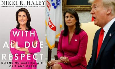 In her memoir, Nikki Haley strikes a balance between currying favor and keeping distance with Trump