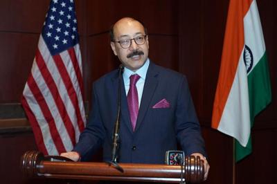 After successful stint as India's envoy to U.S. Harsh Vardhan Shringla gets top foreign policy job