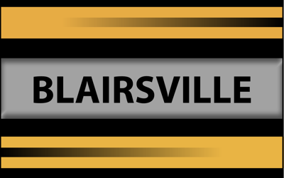 BLAIRSVILLE name and colors slide
