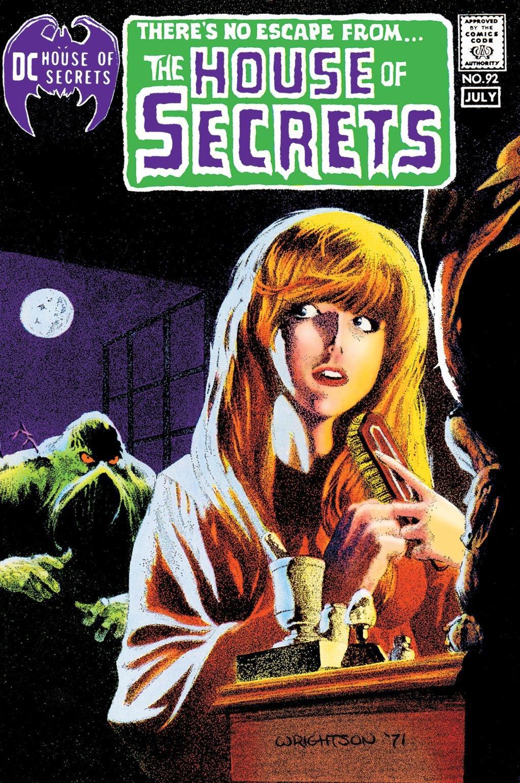 "House of Secrets"" #92, in 1971."