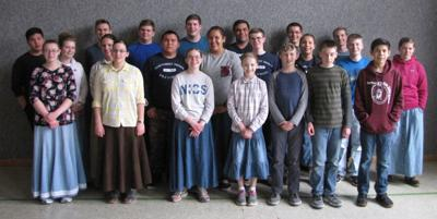 Indiana Wesleyan choir performance