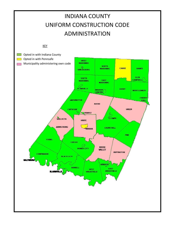 Uniform Construction Code Map