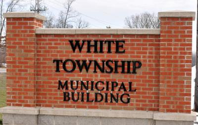 white township bldg sign