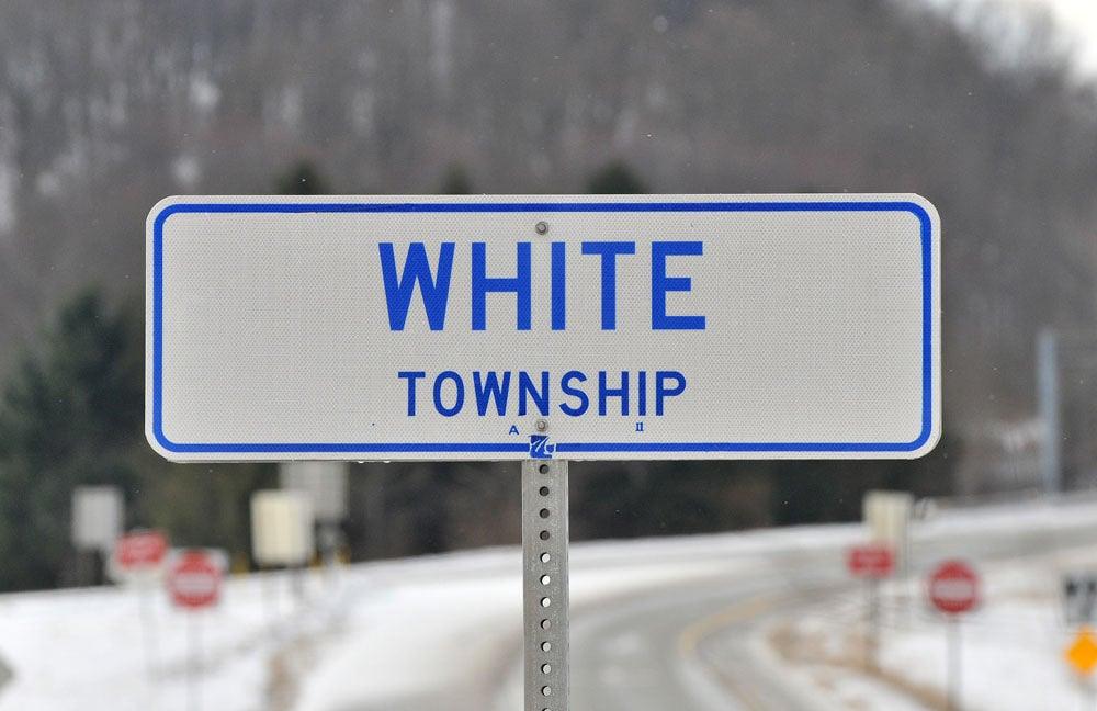 white township sign