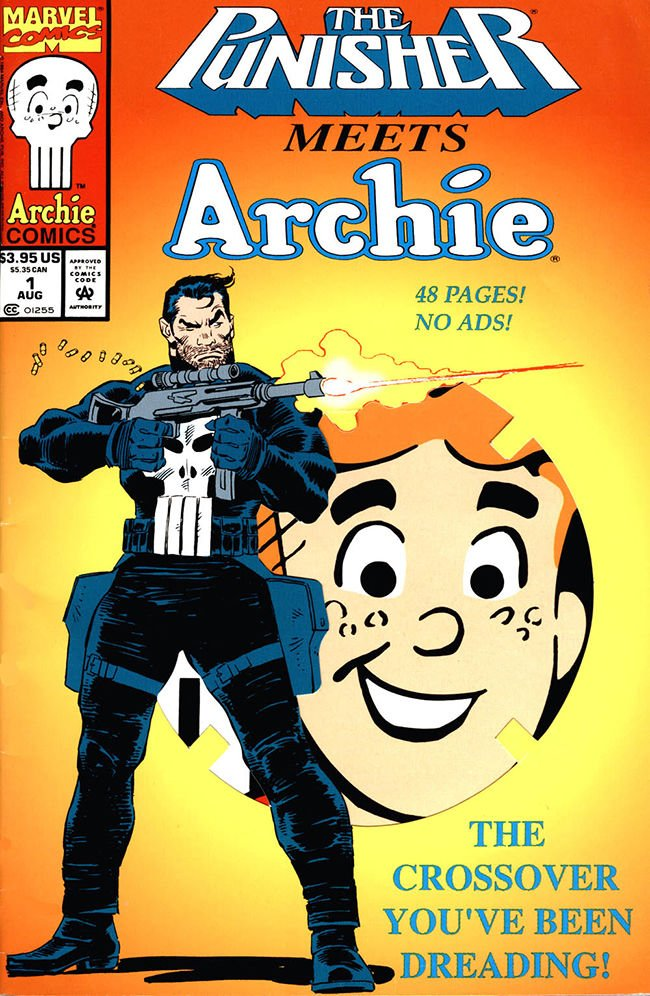 The Punisher teamed up with Archie