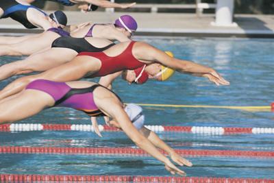 swimming race 01