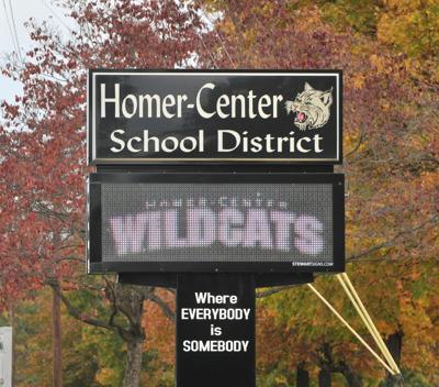 Homer Center sign 002.JPG