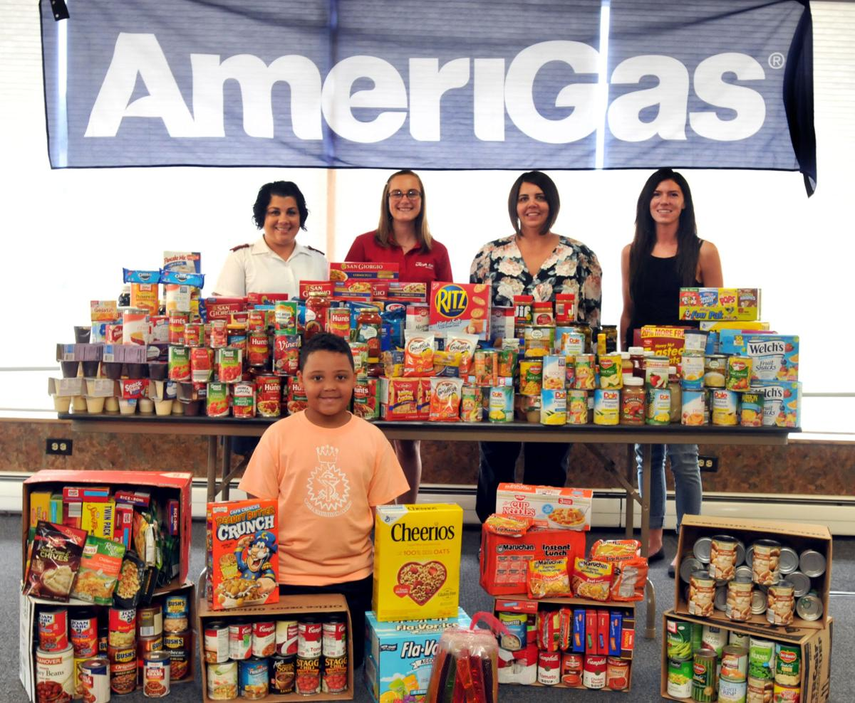 AmeriGas holds food drive for Salvation Army