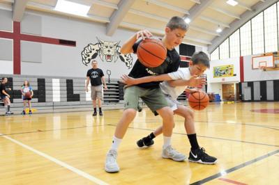 Homer-Center holds basketball camp