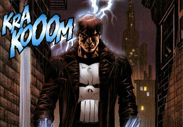 The Punisher became a demon-hunter