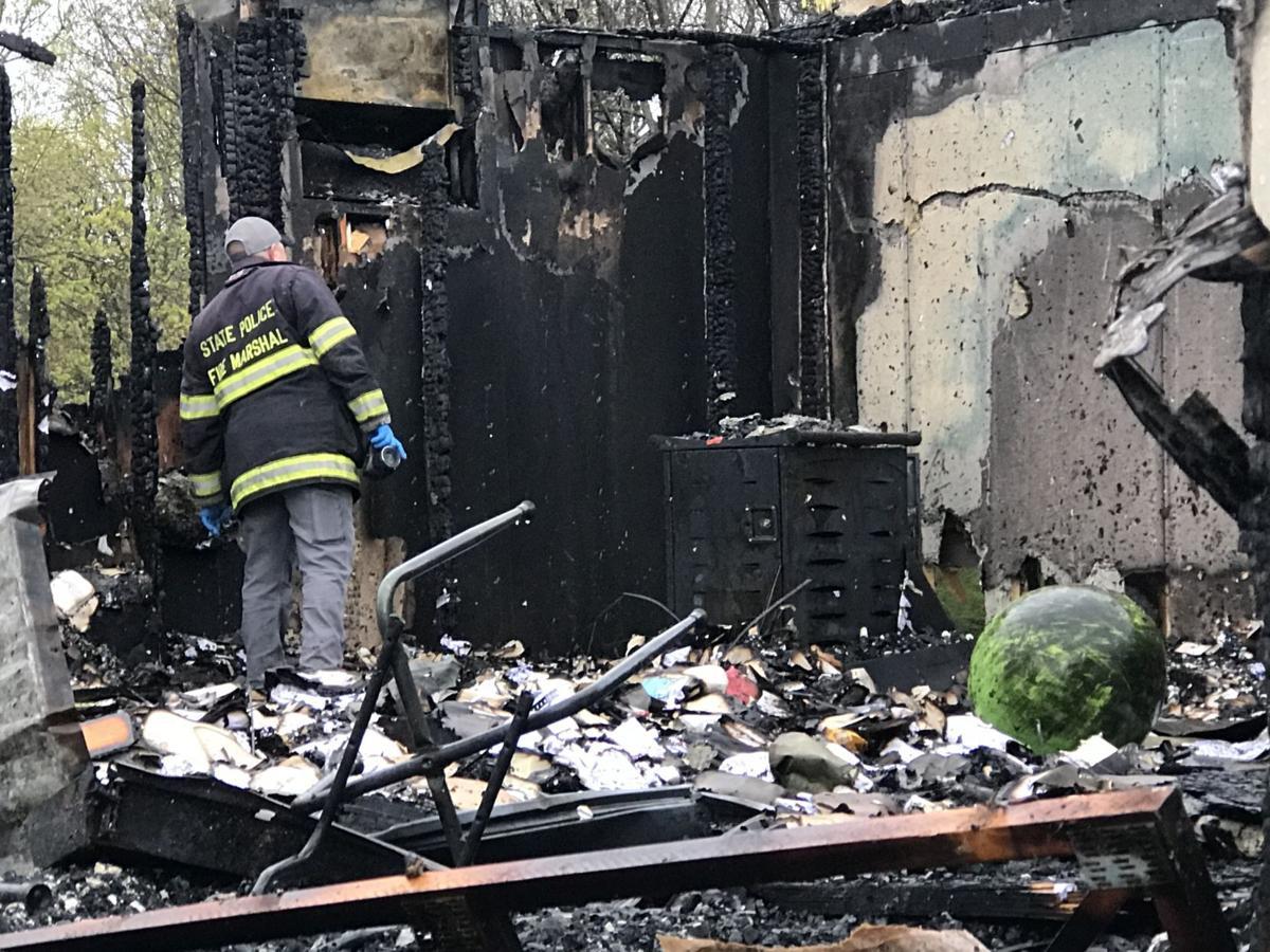 Fire marshal investigates