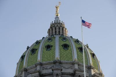 Pennsylvania Capitol building in Harrisburg