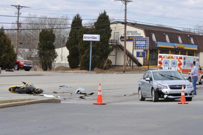 Wayne Ave Motorcycle crash 06.