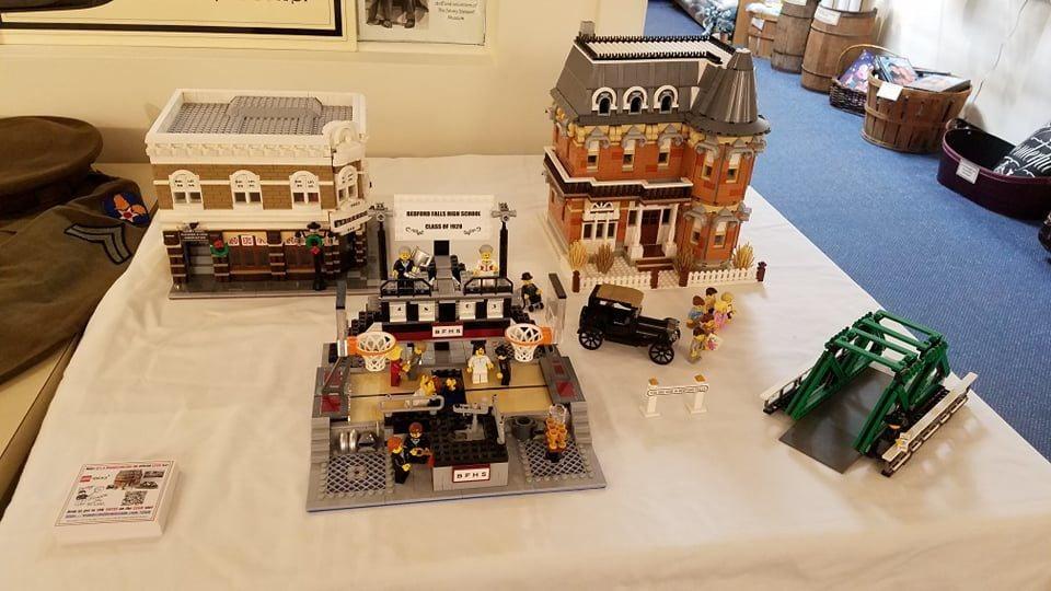 It's a Wonderful LEGO Life display