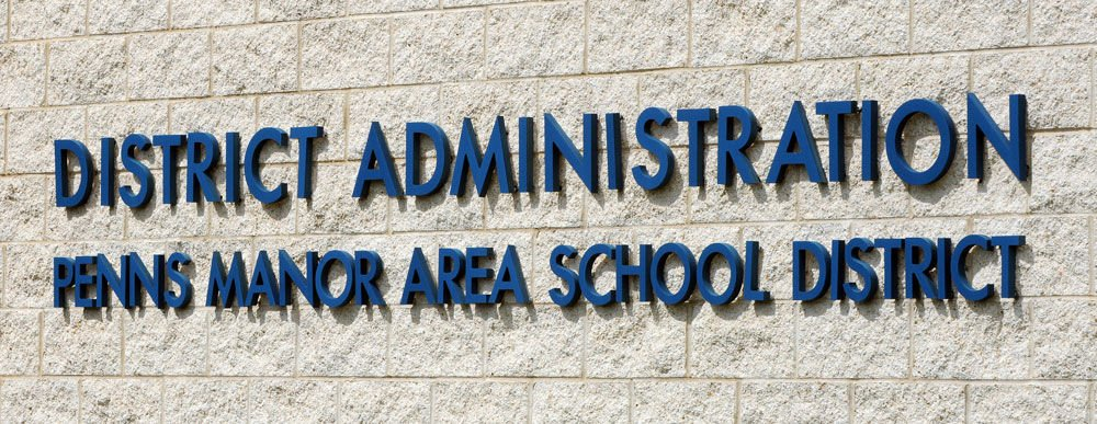 penns manor admin sign NOT FOR TOP STORIES