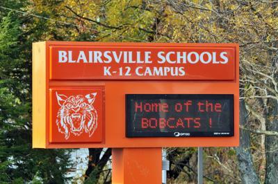 Blairsville High School sign 003.JPG
