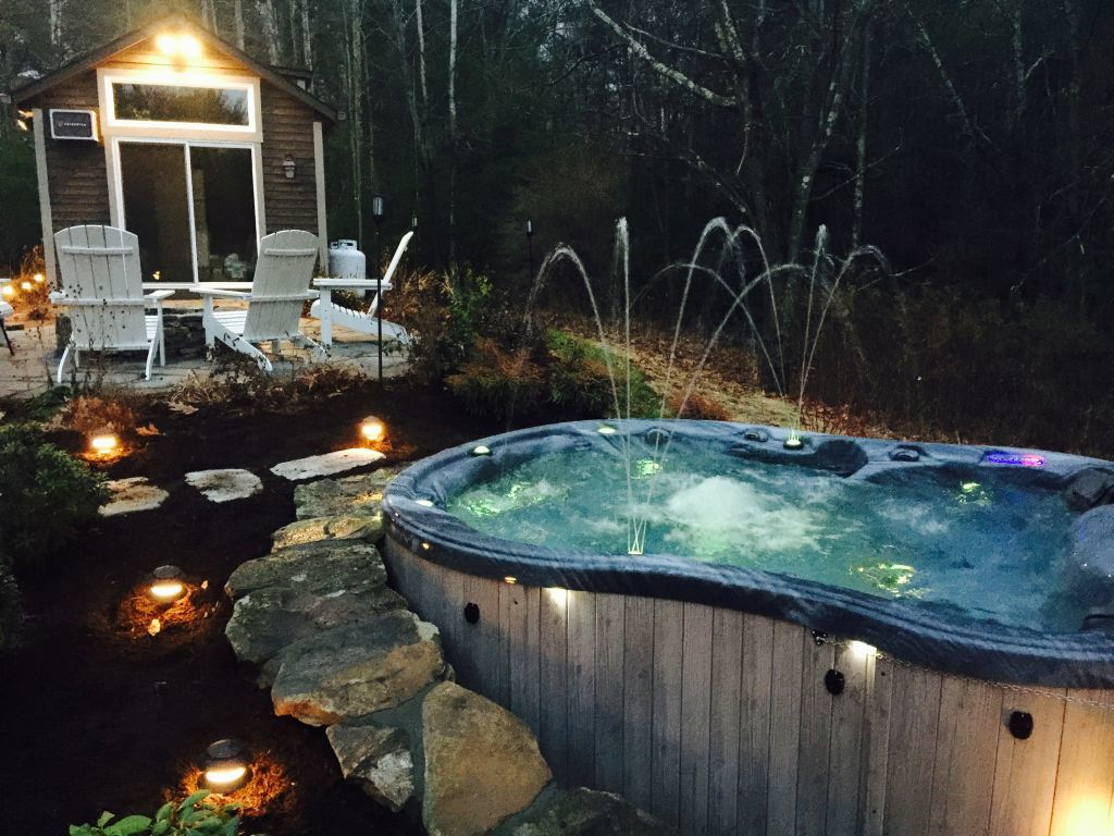 Spas, pools and saunas