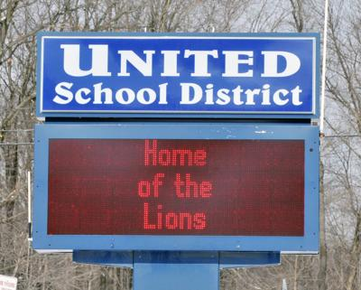 United School District sign