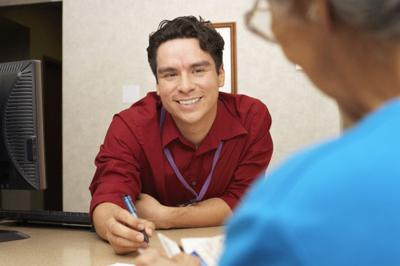 human services counselor client