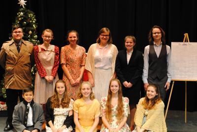 Blairsville show cast