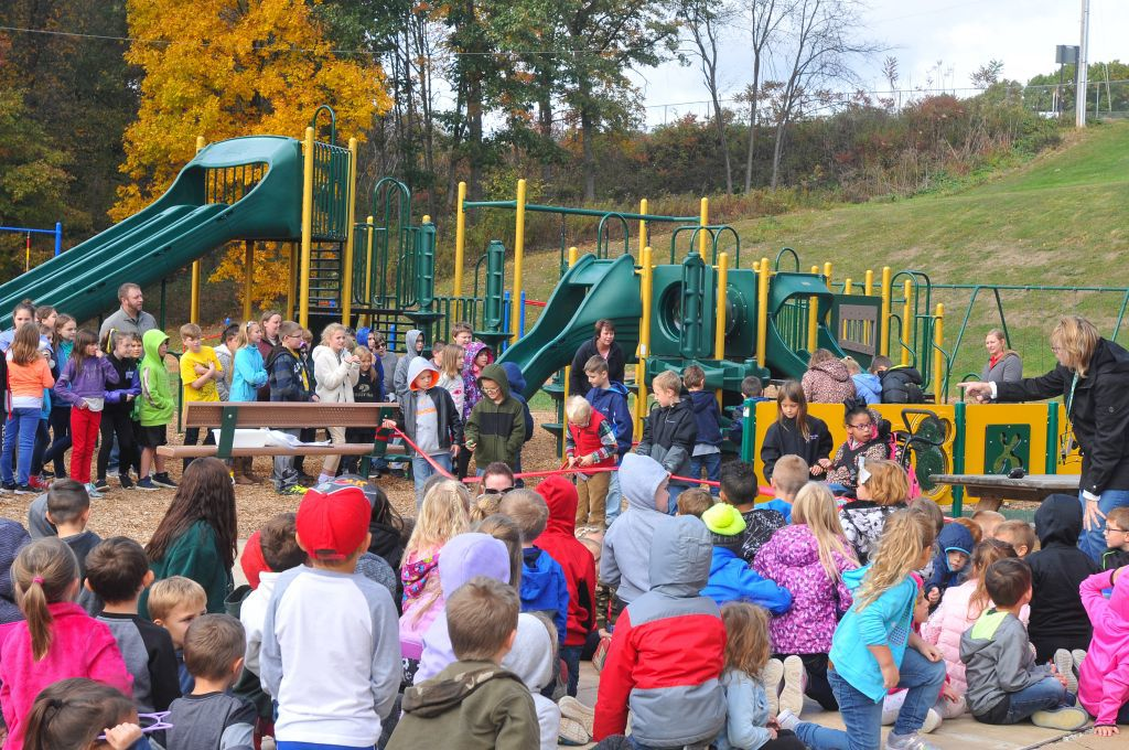 Adaptive Playground at McCreery Elementary School