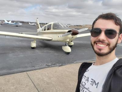 Adrian Balister plane